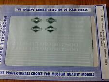 Microscale Decal O #48-389 Illinois Central (IC) Green Diamond Hood (1950-1965