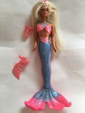 Vintage 1996 Mattel Barbie Doll ~ Bubbling Mermaid Barbie ~ Great Condition