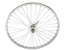 "Bicycle 26"" x 1.75"" Steel Rear Coaster Wheel 36 Spoke 12g 3/8 Axel Chrome Bike"