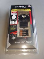 New! Coast Model FL60R Rechargeable Wide Angle 450 Lumen Headlamp Kit
