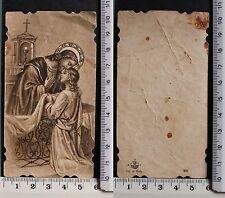 Eucarestia di Gesù - Stampa antica 1935 -  59