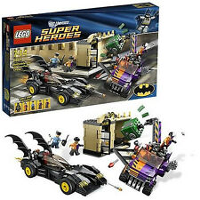 Lego Super Heroes New Sealed Set 6864 Batmobile Two Face Chase Complete Minifig