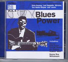 HOUND DOG TAYLOR / MUDDY WATERS +Blues PowerMojo compilationCD2004