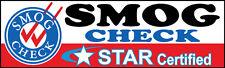 SMOG CHECK-Star Certified Banner, 3'x10'  Vinyl Banner
