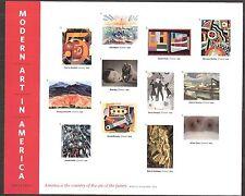 2013 #4748 Modern Art in America Pane of 12 Mint NH