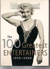 MARILYN MONROE ENTERTAINMENT WEEKLY 100 GREATEST ENTERTAINERS LOADED BOOK 2000