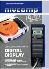 Altímetro NIVCOMP digital para trabajo de construcción, Kit de nivel de precisión electrónica