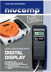 Spot-On Nivcomp Pro Electronic Digital Altimeter Level Set for Construction Work