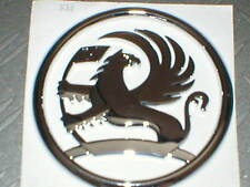 Genuine Vauxhall GRIFFIN Badge Emblem Logo Astra Corsa Vectra Zafira 122mm