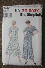 Simplicity sewing pattern misses à enfiler pantalon, jupe & top taille 6-8-10-12-14-16