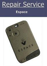 Key Fob Repair Service - Renault Espace
