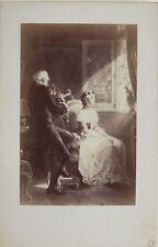 Photographie d'après tableau Goupil Cdv Vintage Albumine n2