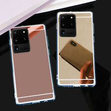Mirror Slim Cover TPU Silicone Case For Samsung S20FE Note 20 Ultra A51 A71 A30S