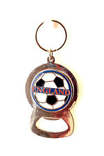 Bottle Soda Beer Cap Opener Bar Tool England Football Metal Keyring Gift New