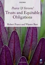 Pearce & Stevens' Trusts and Equitable Obligations, Good Condition Book, Barr, W