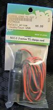 Futaba NCC-3 J Series TX Charge Cord RC Remote Control Brand New