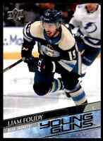 2020-21 Upper Deck Series 1 Young Guns Liam Foudy Rookie #224