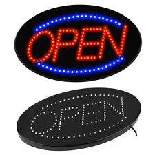 Ultra Bright Animated Motion Open Sign Led Neon Light For Business Store Oval