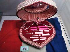 More details for vintage musical manicure set ballerina