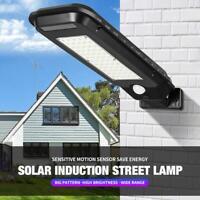 LED Solar Power PIR Motion Sensor Garden Street Lamp Outdoor Waterproof Light