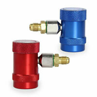 R1234yf Refrigerant Adapter Air Conditioning Replacement Brass Metal Durable