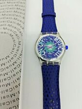 SWATCH MUSICALL 1993 - SLK100 - TONE IN BLUE - NUOVO/NEW