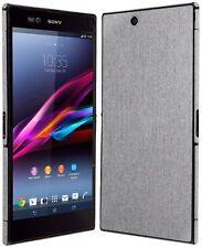 Skinomi Brushed Aluminum Full Body+Screen Protector for Sony Xperia Z Ultra
