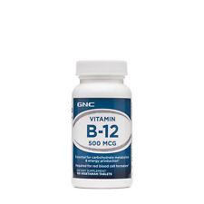 GNC Vitamin B-12 500 MCG