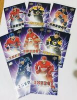 2019-20 UPPER DECK NHL SERIES ONE  PURE ENERGY PE 1-50 U PICK MCDAVID CROSBY