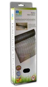 Laub und Insektenschutz für Lichtschacht | Kellerschachtabdeckung | Schutzgitter