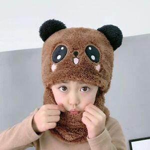 Cool Good Quality Warm Soft Kids Beanies Cap Hat Winter Children Cute Panda Caps