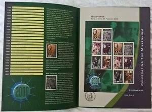 Ireland Stamps, Celebrating the Millennium, Discoveries - dated 29/2/2000