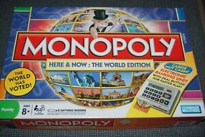 2008 MONOPOLY HERE AND NOW - WORLD EDITION Replacement Pieces **FREE SHIPPING**
