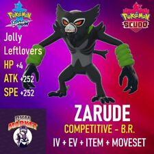 ZARUDE - Leggendario - Competitivo VGC20 - Pokémon SPADA & SCUDO