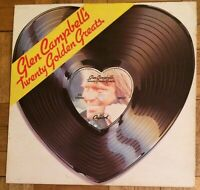 Glen Campbell - Twenty Golden Greats  LP Record Vinyl EMTV2 Capitol Records 1976