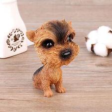 Yorkshire Terrier  Bobbing Head BobbleHead Dog Car Home Ornaments Decor