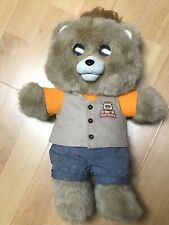 Teddy Ruxpin Animated Story Telling Bluetooth Bear LCD Eyes Ages 2+ Works