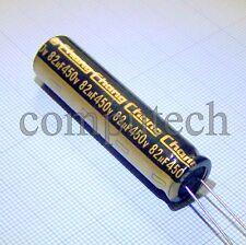82uF 450V 105°C Condensatore basso profilo x LCD LED TV 12,5 x 50mm 1 pz