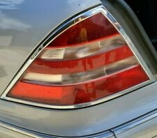 1999 - 2006  MERCEDES-BENZ W220 S430 S500 LEFT TAIL LIGHT WITH CHROME TRIM