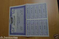 Afghanistan Nassaji Company 100 Shares Specimen AUNC-UNC