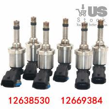 6x Fuel Injectors Fit For Chevrolet Camaro Traverse C Acadia CTS 3.6L 12638530