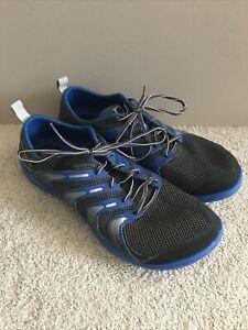 Merrell Bare Access Running Shoes Men's 12 Granite Ice Barefoot VIBRAM Gray Blue