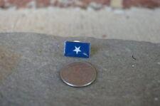 Bonnie Blue Flag Lapel Hat Pin Confederate CSA Civil War Souvenir