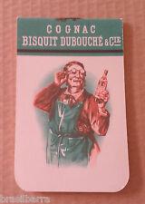 CARNET VIERGE DE BAR Publicitaire Cognac Bisquit Dubouché & Cie vers 1950