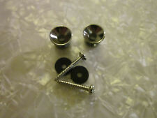 New Chrome Guitar Strap Button 1 Set Bell Style#2 Pair Fits Electric guitar