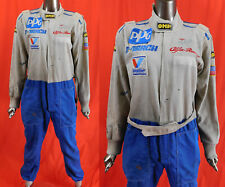 Vintage OMP PPG March Alfa Romeo Pit Crew Mechanics Suit Coveralls Jumpsuit