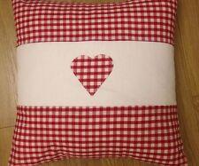 Gingham Vintage/Retro 100% Cotton Decorative Cushions
