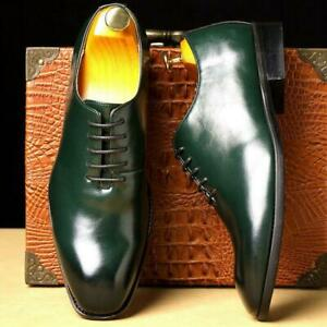 Mens Oxfords Dress Loafers Business Pointy Toe New Casual Lace UP Shoes Oversize