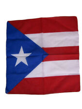 "22""x22"" Puerto Rico Rican Light Royal Blue Bandana"