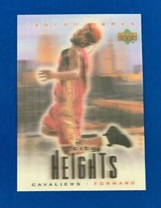 2003-04 Upper Deck City Lights LEBRON JAMES Rookie RC * 3D